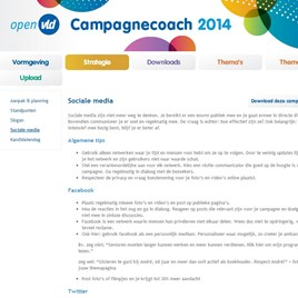 Open VLD campagnecoach 2014